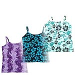 Cotton Knit Hawaiian Tank Tops
