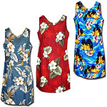 Cotton Short Tank Hawaiian Dresses