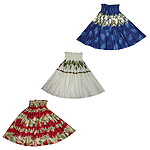 Cotton Hawaiian Pa'u Hula Skirts