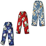 Cotton Hawaiian Capri Pants