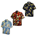 Cotton Hawaiian Shirts