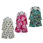 Girls Hawaiian Spaghetti Top Two Piece Sets