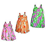 Toddler Girls Bungee Hawaiian Dresses