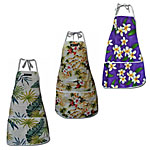 Cotton Hawaiian Aprons