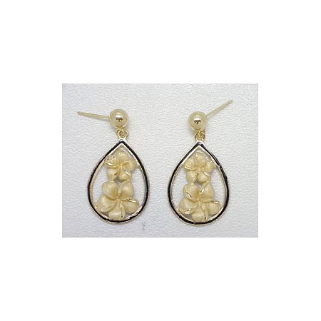 14k Gold Millennium Earrings 4.8g