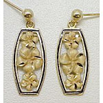 14k Gold Millennium Earrings 4.7g