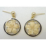 14k Gold Millennium Earrings 4.5g