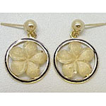 14k Gold Millennium Earrings 5.5g