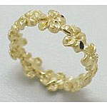 14k Gold Millennium Hawaiian Ring 2.8