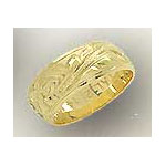 14k Gold Hawaiian Heirloom Ring