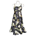 Orchid Palms 2 Spaghetti Flounce Dress