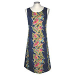Bird of Paradise Panel Women's Mid-Length Tank Dress