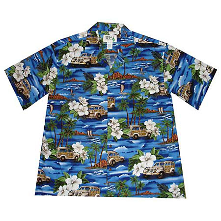 Aloha Woody Boys Hawaiian Shirt