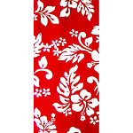 Hibiscus Print 100% Cotton Poplin Hawaiian Fabric