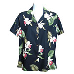 Red Orchid Women's Fitted Hawaiian Blouse