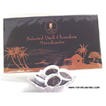 Dark Chocolates Macadamia Nut, 6oz.
