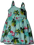 Flamingo Lagoon Girls Toddler Bungee Dress
