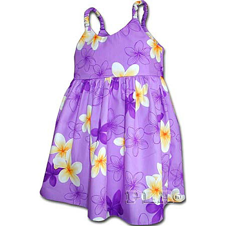 Plumeria Essence Girls Toddler Bungee Dress