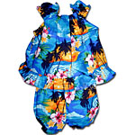 Tropical Sunset Baby Girls Cabana Set