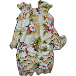 Tropical Diamond Head Baby Girls Cabana Set