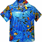 Tropical Reef Boys Hawaiian Shirt