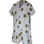 Palm Tree 3 Boys Toddler Cabana Set