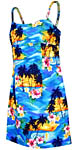 Tropical Sunset Short Spaghetti Strap Dress