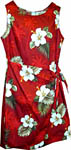 Hibiscus Palms Sarong Dress