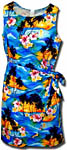 Tropical Sunset Sarong Dress