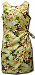 Tropical Diamond Head Sarong Dress