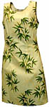 Bamboo Leaf Short Tank Dress