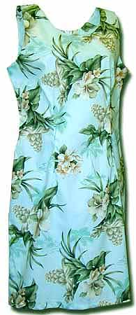 Floral Corsage Short Tank Dress