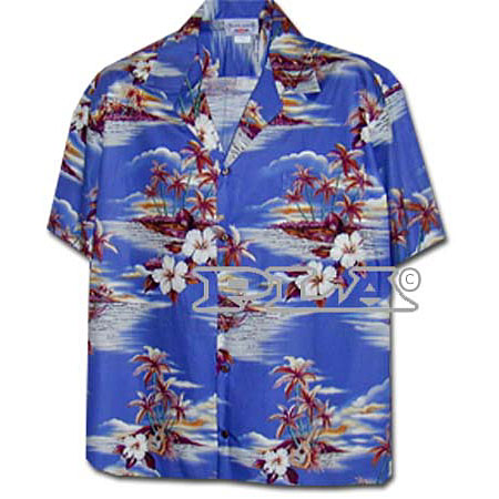 Pacific Island Womens Hawaiian Blouse