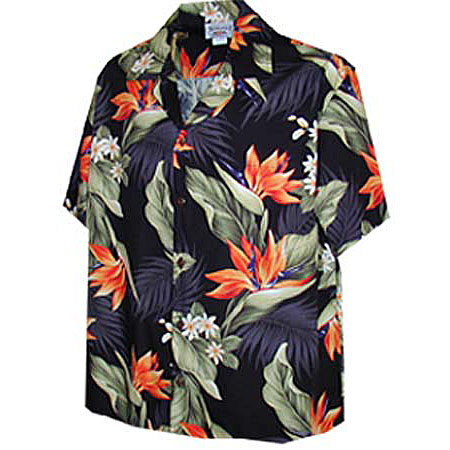 Bird of Paradise Womens Hawaiian Blouse