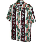 Petroglyphs Panel Mens Hawaiian Shirt