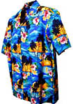 Tropical Sunset Boys Hawaiian Shirt