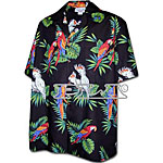 Parrot and Macaw Men's Hawaiian Shirt