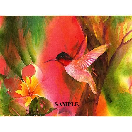 Rainbow Plumeria 2 Original Acrylic Painting by by kauaiartist