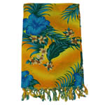 Girls Sarong - Yellow